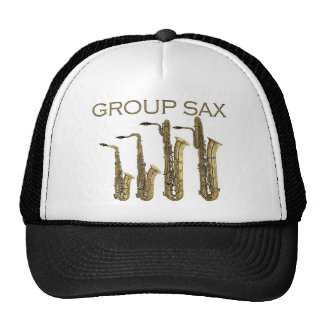 Saxofón del grupo gorra
