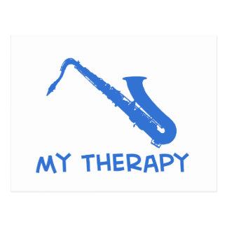Saxofón del tenor mi theraphy postal