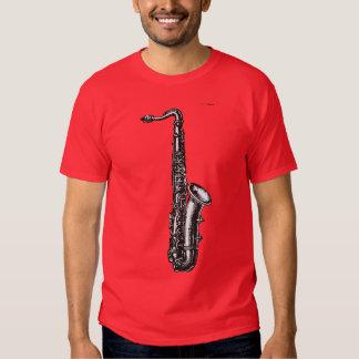Saxofón del tenor playeras