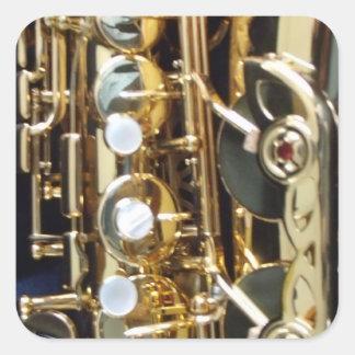 Saxofón Etiquetas
