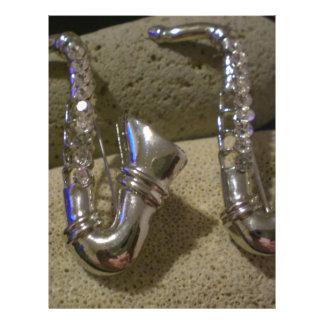 """Saxofón Folleto 8.5"""" X 11"""""""