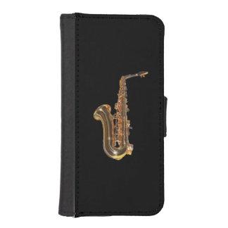 Saxofón Fundas Cartera Para Teléfono