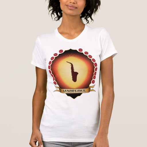 Saxofón Mandorla Camiseta