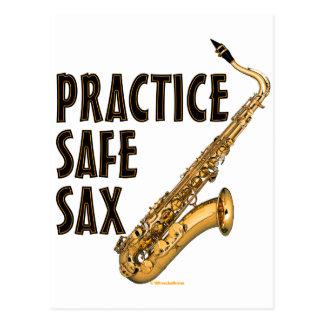 Saxofón seguro de la práctica - tenor postal