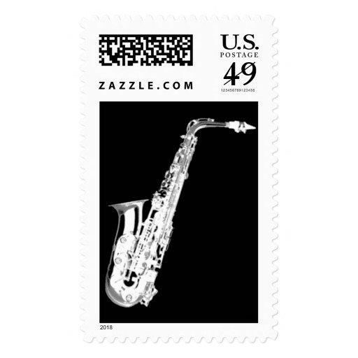 saxofón sello