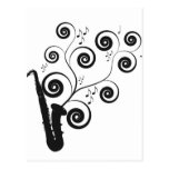 Saxofón Tarjetas Postales