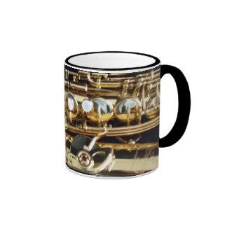 Saxofón Taza De Dos Colores