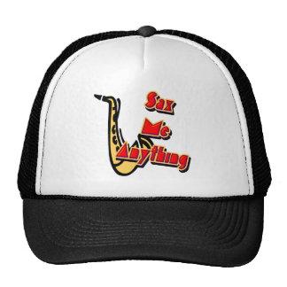 Saxofón yo cualquier cosa gorra