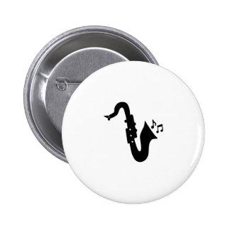 saxofone button