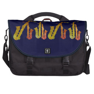 Saxofones candentes bolsas de portátil