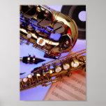 Saxofones Poster