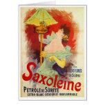 Saxoleine, Jules Chéret Greeting Card