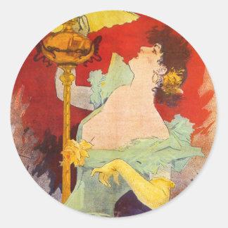 Saxoleine, Jules Chéret Sticker