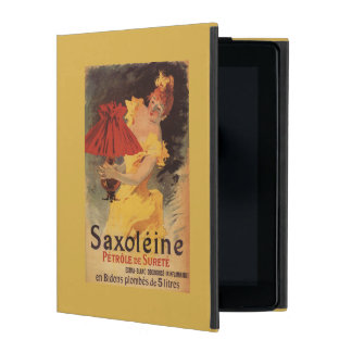Saxoleine Lamp Oil Red Lampshade iPad Cover