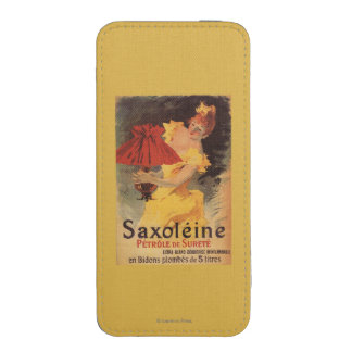 Saxoleine Lamp Oil Red Lampshade iPhone SE/5/5s/5c Pouch