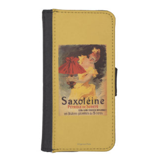 Saxoleine Lamp Oil Red Lampshade iPhone SE/5/5s Wallet Case