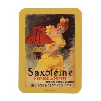 Saxoleine Lamp Oil Red Lampshade Rectangular Photo Magnet