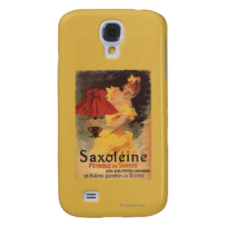 Saxoleine Lamp Oil Red Lampshade Samsung Galaxy S4 Cover
