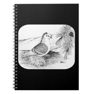 Saxon Shield Pigeon 1973 Notebook