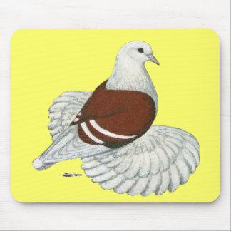 Saxon Shield Red White Bar Mouse Pad