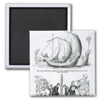 Saxon Ship Magnet