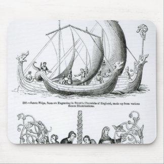 Saxon Ship Mouse Pad