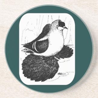 Saxon Swallow Pigeon 1978 Beverage Coasters