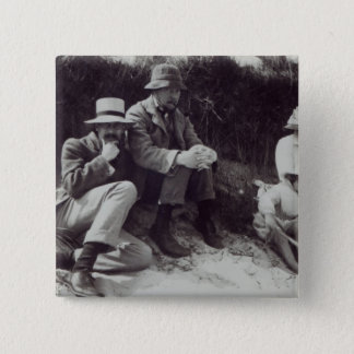 Saxon Sydney Turner, Clive Bell, and Julian Pinback Button