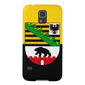 Saxonia-Anhalt flag Galaxy S5 Cases