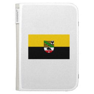 Saxonia-Anhalt flag Kindle Case