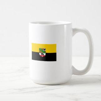 Saxonia-Anhalt flag Coffee Mug
