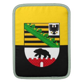 Saxonia-Anhalt flag Sleeve For iPads