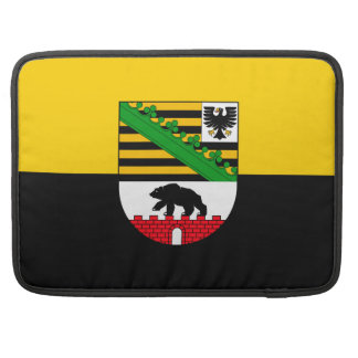 Saxonia-Anhalt flag MacBook Pro Sleeve