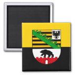 Saxonia-Anhalt flag Magnet