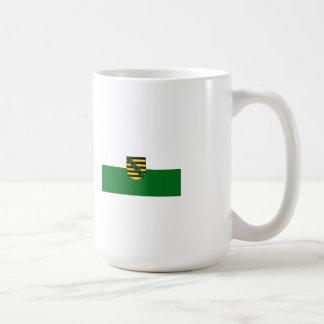 Saxonia flag coffee mug