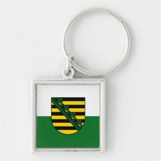 Saxonia flag keychain