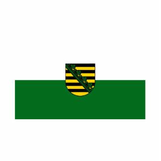 Saxonia flag statuette