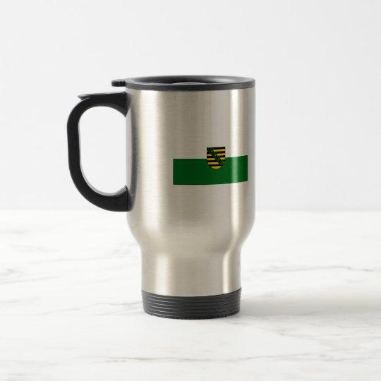 Saxonia flag travel mug