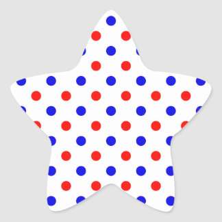 Saxonian Colors Star Sticker