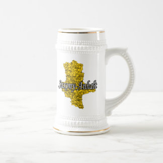 Saxony-Anhalt Beer Stein