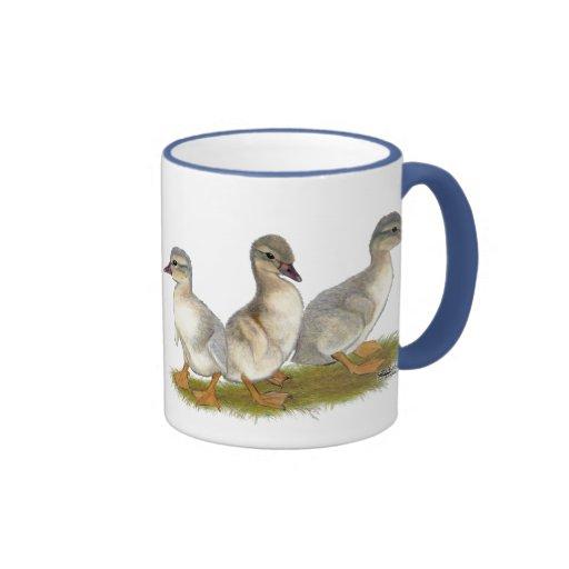 Saxony Ducklings Ringer Coffee Mug