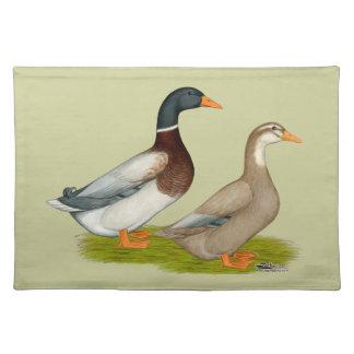Saxony Ducks Cloth Placemat
