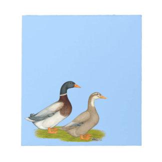 Saxony Ducks Notepad