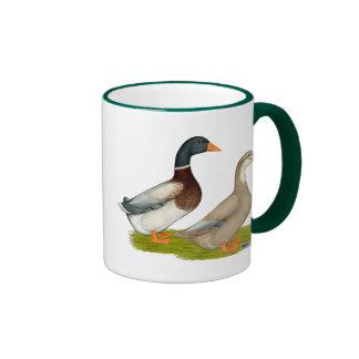 Saxony Ducks Ringer Mug