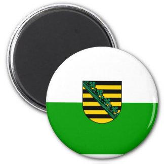 Saxony , Germany 2 Inch Round Magnet