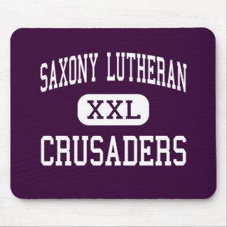 Saxony Lutheran - Crusaders - High - Jackson Mouse Pad