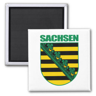Saxony (Sachsen) COA 2 Inch Square Magnet