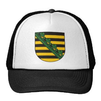 Saxony (Sachsen) Coat of Arms Hat