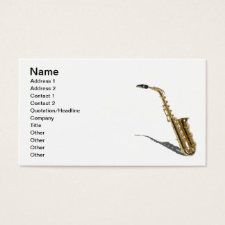 Saxophone020511, Name, Address 1, Address 2, Co... Business Card