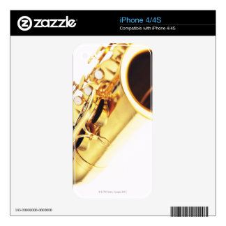 Saxophone 2 decal for iPhone 4